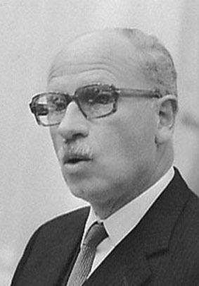 Harry van Doorn (PPR) was CRM-minister van 1973 tot 1977