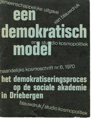 Brochure over 'demokratiseren' op de Horst